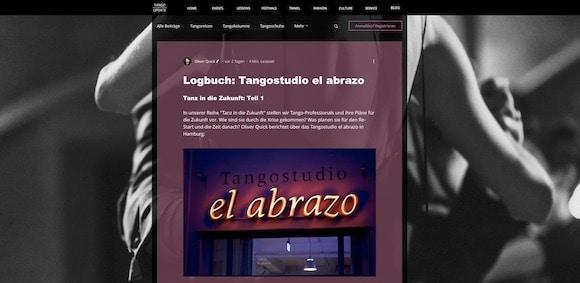 tango argentino online screenshot